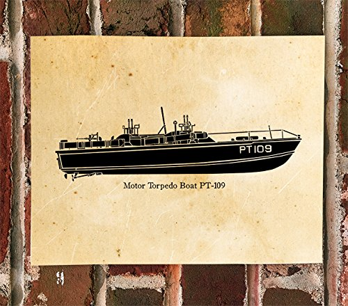 KillerBeeMoto: Motor Torpedo Boat PT-109 Limited Print ()
