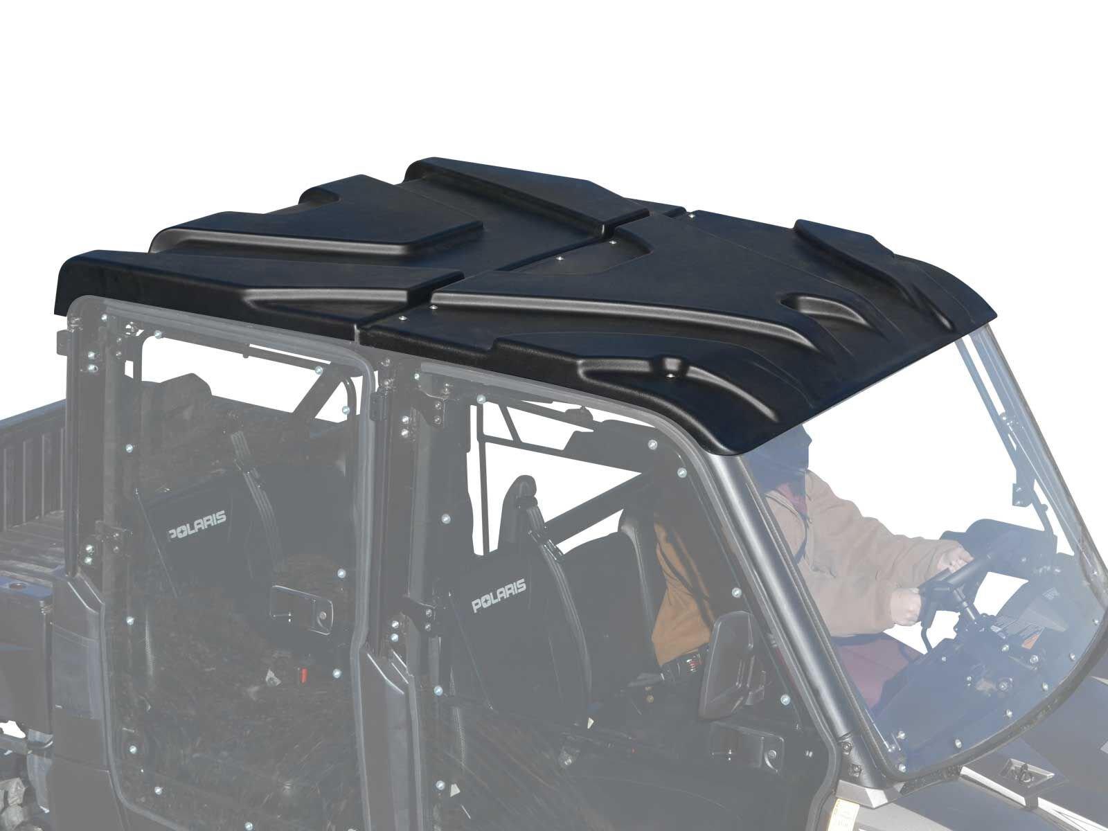 SuperATV Plastic Roof for Polaris Ranger Full Size XP 570 Crew / 900 Crew / 1000 Crew / 1000 Diesel Crew (SEE FITMENT)