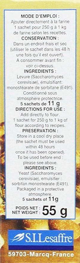 Granovita Levadura Seca Panaderia Condimento - 50 gr - [Pack de 7]: Amazon.es: Alimentación y bebidas