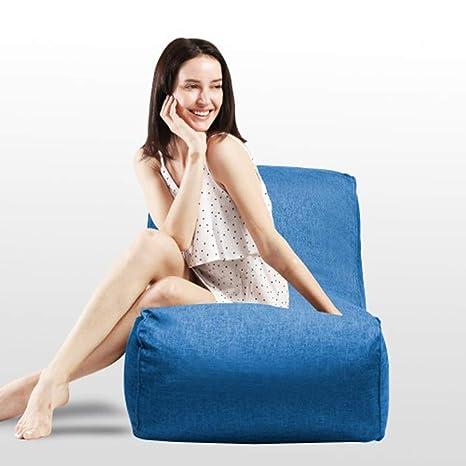 Brilliant Dercass Bean Bag Chair Foam Lounger 15 75 Huge Memory Foam Furniture Bean Bag Big Sofa With Soft Fiber Cover Blue Camellatalisay Diy Chair Ideas Camellatalisaycom