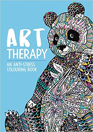 Buy Art Therapy An Anti Stress Colouring Book Online At Low Prices In India
