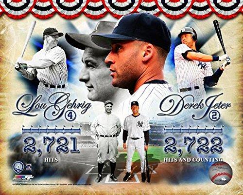 - Yankees Derek Jeter & Lou Gehrig Hits Leaders 8