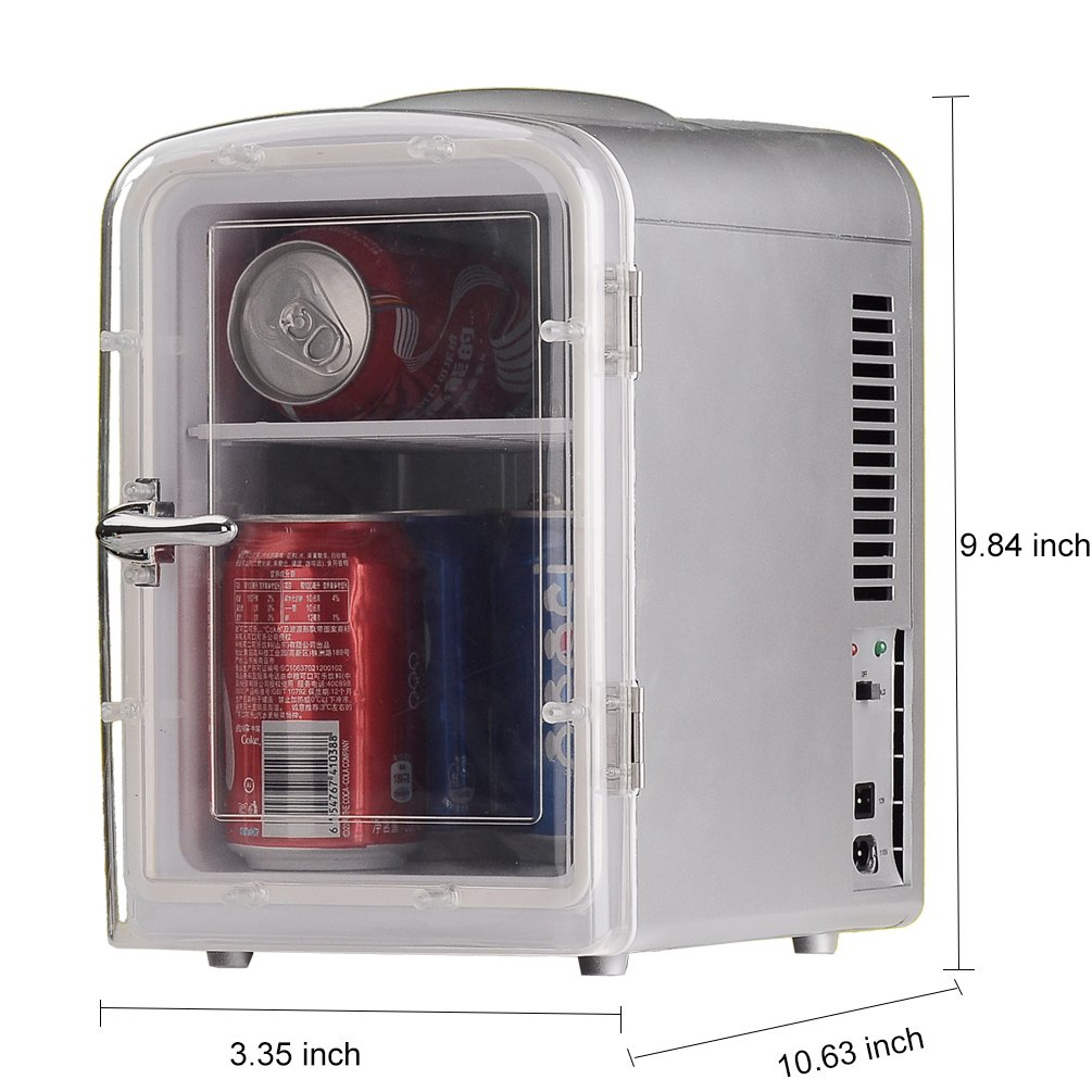 Generic DC12V ABS Mini Truck Car Compact Refrigerator AC110V Thermoelectric Cooler Warmer Fridge Travelling Camping Soda Camper by SMETA (Image #8)