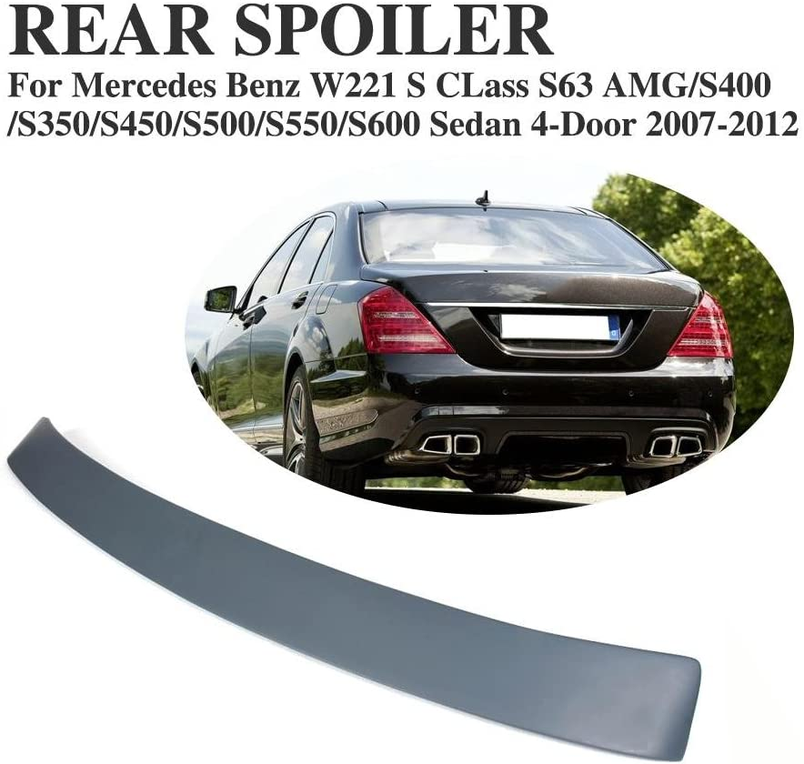 MERCEDES S CLASS W221 BLACK SERIES BOOT SPOILER NEW