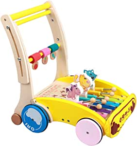 Baby Doll pram Wooden Pram and Stroller toys --Cherry ...