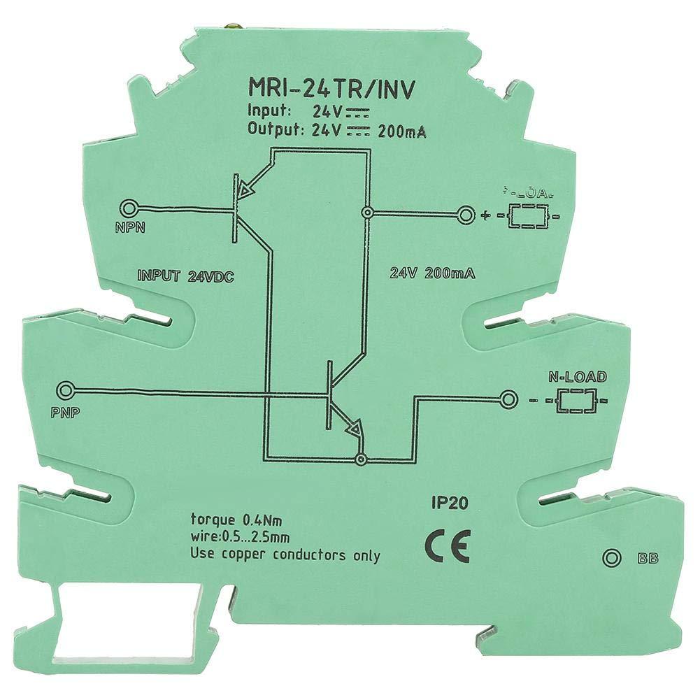 Convertidor de se/ñal NPN PNP INV Convertidor de se/ñal NPN PNP PLC Sensor Polar IO M/ódulo de conversi/ón de nivel Rel/é convertidor de se/ñal Jectse MRI-24TR