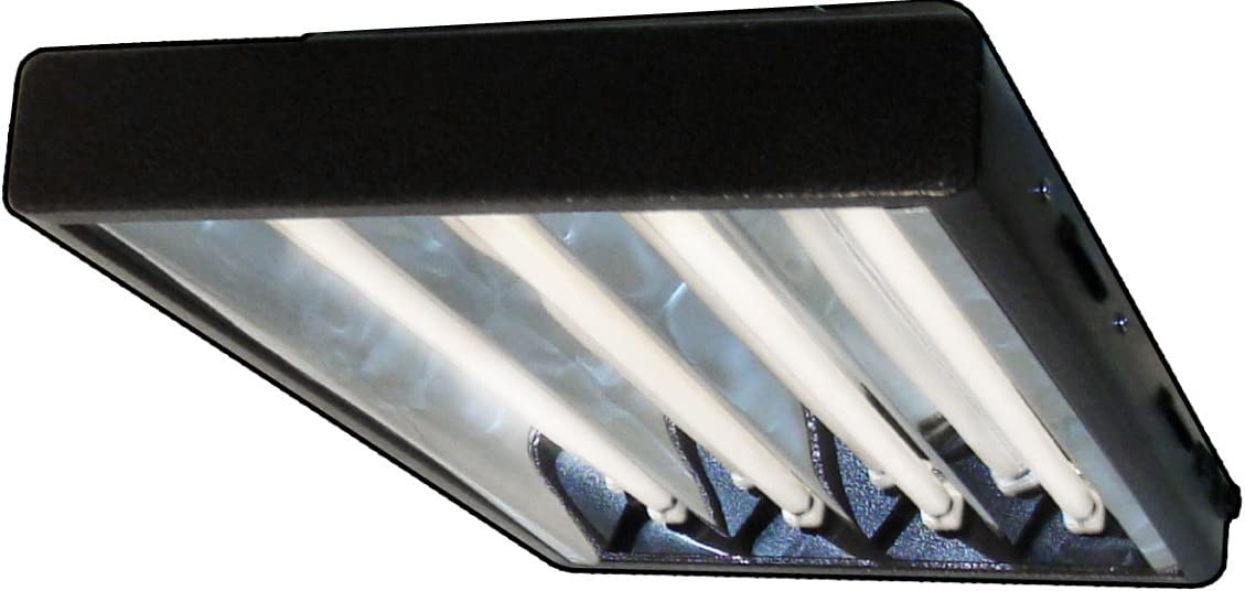2 ft.T5 High 1-Bulb Output Fluorescent Grow Light Fixture