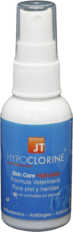 JTPharma Hypoclorine - Spray para piel y heridas de mascotas, 60 ml