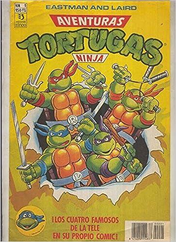 Tortugas Ninja numero 01: Heroes en media concha: Varios ...