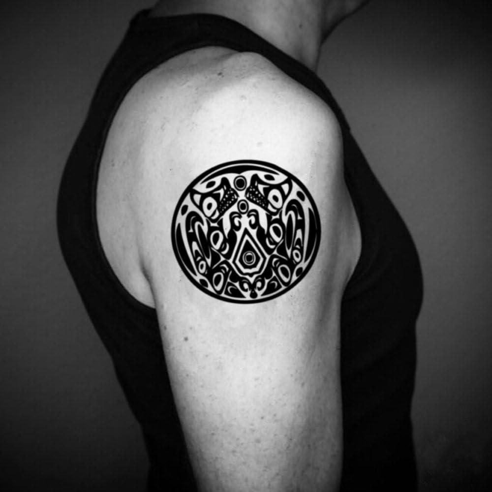 Tatuaje Temporal de Tribu Quileute (2 Piezas) - www.ohmytat.com ...