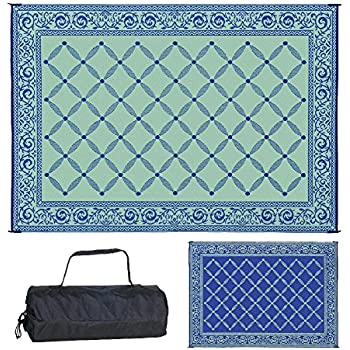 Amazon Com Reversible Mats 159123 Outdoor Patio Rv Camping Mat