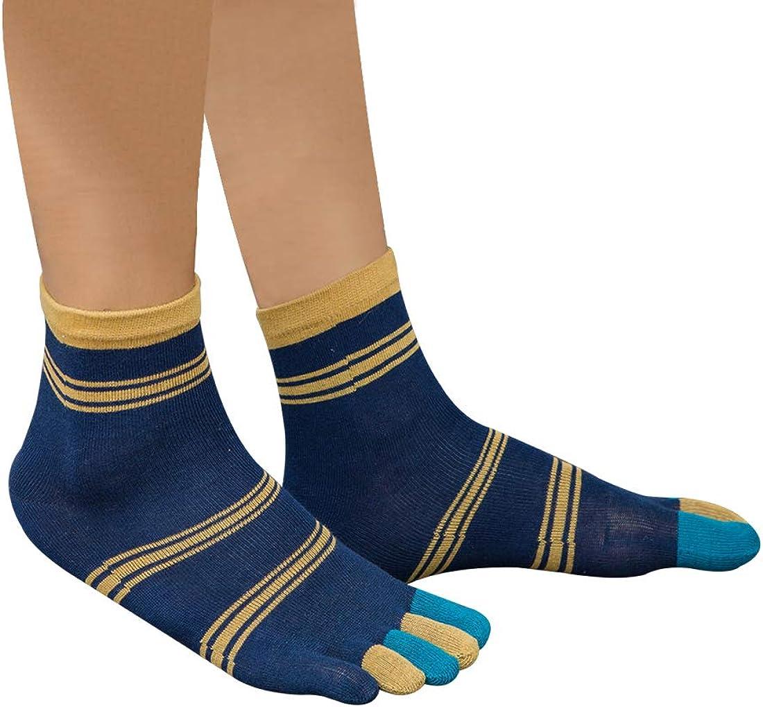 Panegy Pack de Calcetines de 5 Dedos para Hombres para Deportes Sport Cilclismo Running para Vearno Antideslizante y Transpirable Algod/ón Dedos de Pies Separados
