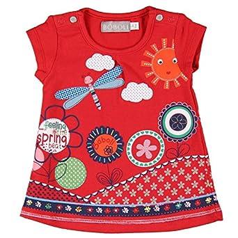 boboli Vestido Punto Elástico, Robe Bébé Garçon lot de rouge taille 3M(62cm) 221083
