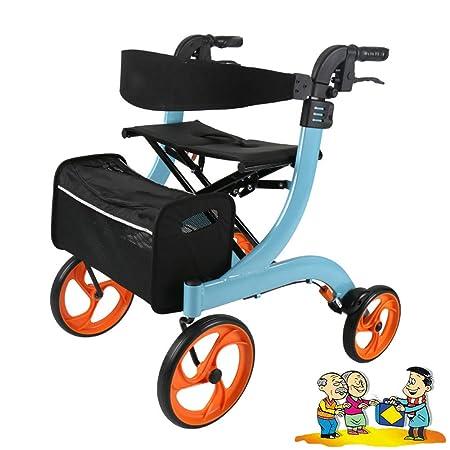 WYQWAN Andador para Adultos Carro De Compras De Aluminio con ...