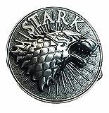 stark belt buckle - Game of Thrones Stark Wolf Pewter Finish Belt Buckle