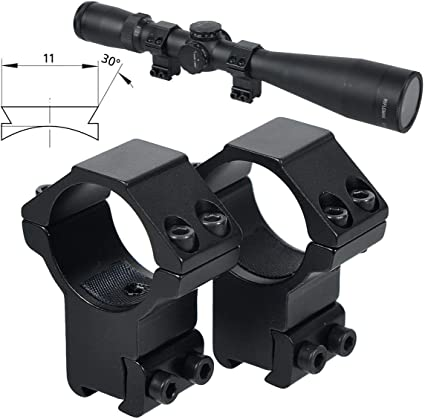 Woltis 11mm Dovetail Scope Rings For 30mm Riflescope High Profile Shotgun Scope Mounts Fit 11mm Flat Rail 60 Degree Groove For Cz 455 Varmint Gun Scope Mounts Amazon Canada