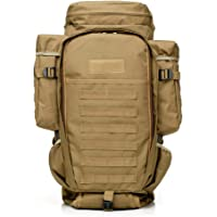 65L High Capacity Outdoor Backpack Military Tactical Bag Pack Rucksack for Hunting Shooting Camping Trekking Hiking Traveling
