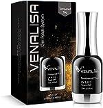 VENALISA 12ML No Wipe Tempered Top Coat, Scratch Resistant Long Lasting
