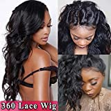 s-noilite 360 Lace Frontal Wig 100% Brazilian Human - Best Reviews Guide