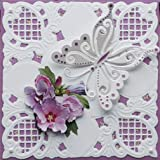 Flower Corner Cutting Die Embossing Scrapbooking DIY Craft Paper Card Stencil