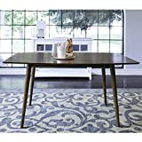 WE Furniture 60'' Mid-Century Wood Dining Table - Acorn