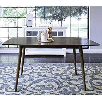 Amazoncom BLAIR Small Dining Table MidCentury Modern Dining - Mid century modern small dining table