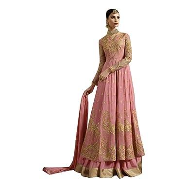 Indian Neue Brautkleid Muslimischen Frauen Kleid Hijab Anarkali ...