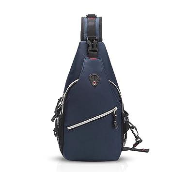 FANDARE Fashion Sling Bag Shoulder Backpack Crossbody Bag Chest Pack Bag  Single One Strap Bag Fanny 91614f1cfc