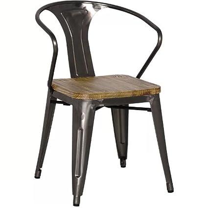 Amazon.com: Jardín de muebles de salón de silla con brazos ...