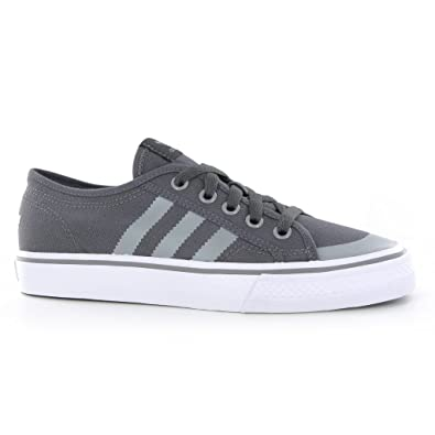 pretty nice 1a170 c54f8 Adidas Nizza Lo Grey Kids Trainers Size 12 UK  Amazon.co.uk  Shoes   Bags