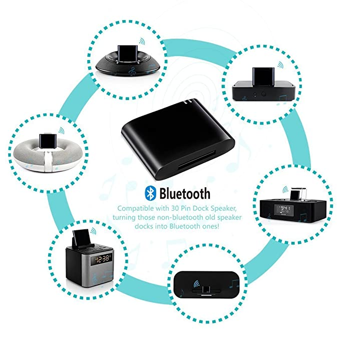 Amazon upgrade bluetooth 42 music audio receiver adapter amazon upgrade bluetooth 42 music audio receiver adapter for bose sounddock and 30pin ipod iphone dock speaker home audio theater fandeluxe Image collections