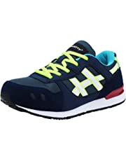 MODYF Steel Toe Cap Safety Shoes Casual Sport Breathable Outdoor Footwear (6.5, Blue)
