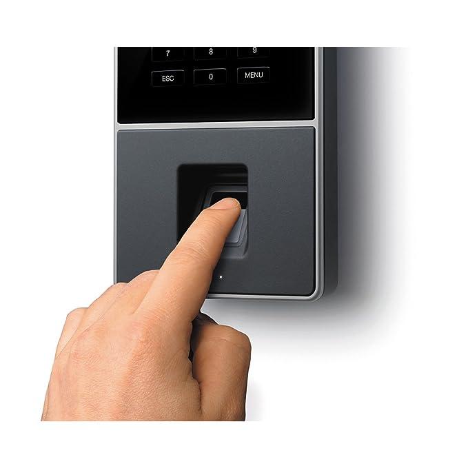 Safescan TM-626 - Controlador de presencia con huella y RFID: Amazon.es: Oficina y papelería