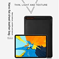 Case Cover for iPad, Bovake Leather Sleeve Case Cover Pouch Skin for Apple Pencil 2nd & iPad Pro 11inch 2018