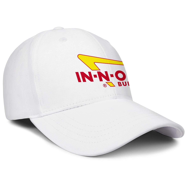 in-N-Out Burger Logo Baseball Cap Rugged Classic Cowboys Strapback Hat Men Women