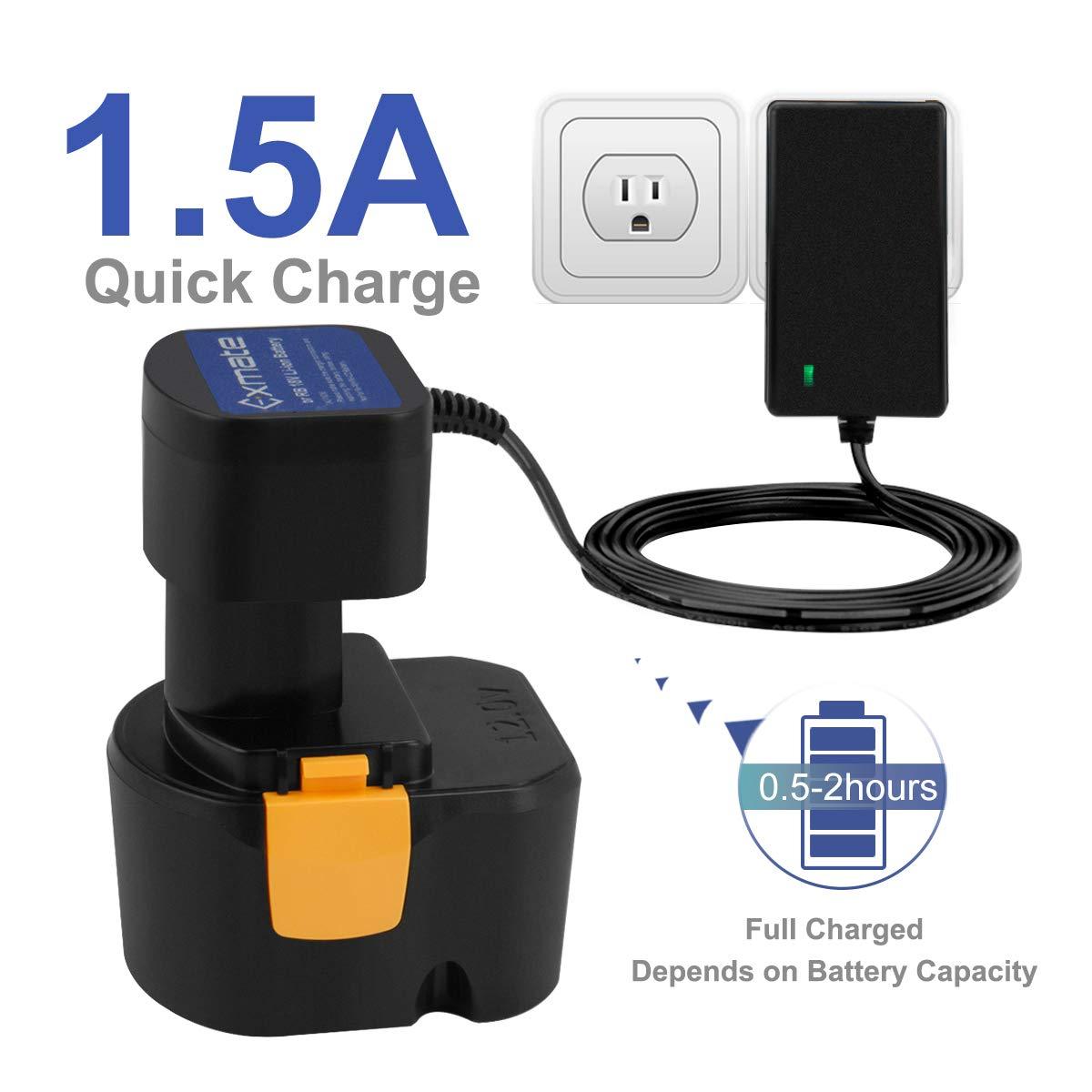Exmate 1.2V-18V Multivolt Ryobi Battery Charger