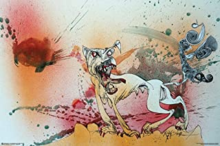 product image for Frame USA Ralph Steadman - Raging Bitch Poster (Unframed)(24x36)