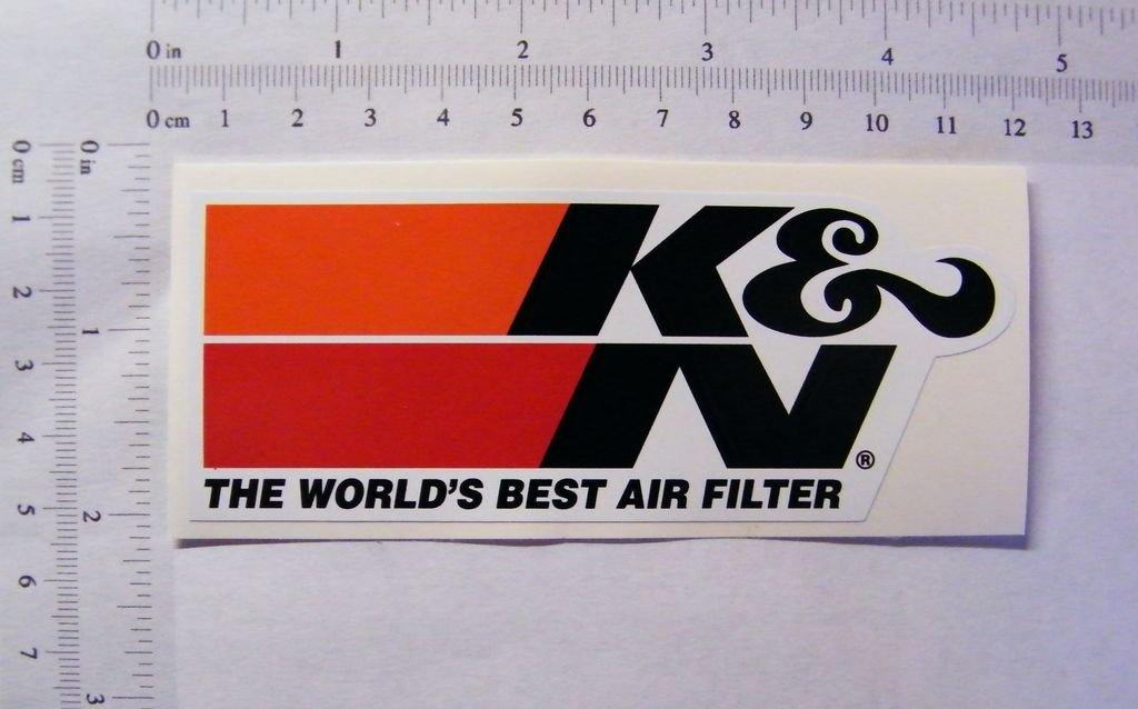 K /& N Air Filters farbiger Pegatinas S070 113/mm x 45/mm