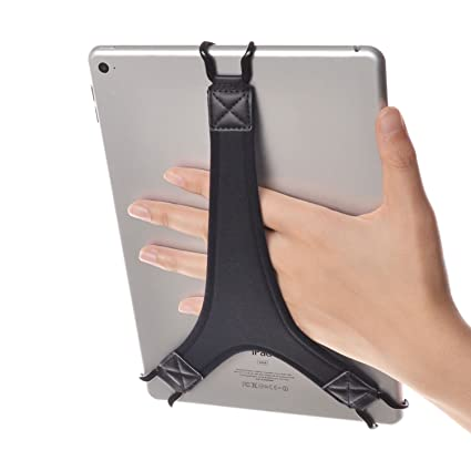 online store ec0bd 87c19 TFY Security Hand Strap Holder Finger Grip for Tablets - iPad Air/iPad Pro  9.7
