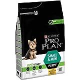 Pro Plan Small & Mini Puppy avec Optistart Riche en Poulet - 3 KG - Croquettes pour Chiots de Petite Taille