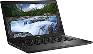 "Dell Latitude 7490 R5VYY Laptop (Windows 10 Pro, Intel i7-8650U, 14.1"" LCD Screen, Storage: 256 GB, RAM: 16 GB) Black"