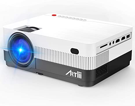Proyector Portátil HD, Artlii LED Proyector con 2800 Lúmenes ...