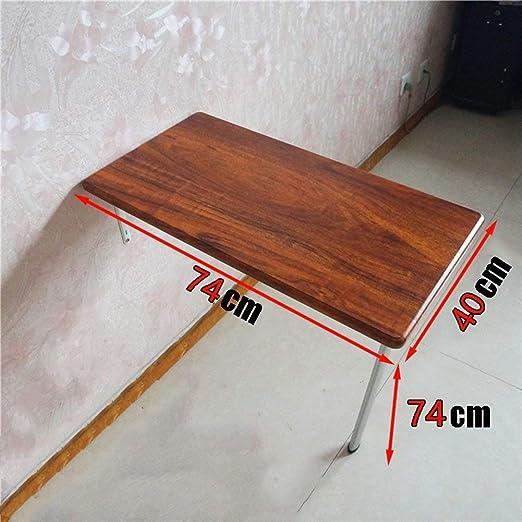 AFDK Mesa de hojas abatibles de pared Escritorio de mesa plegable ...