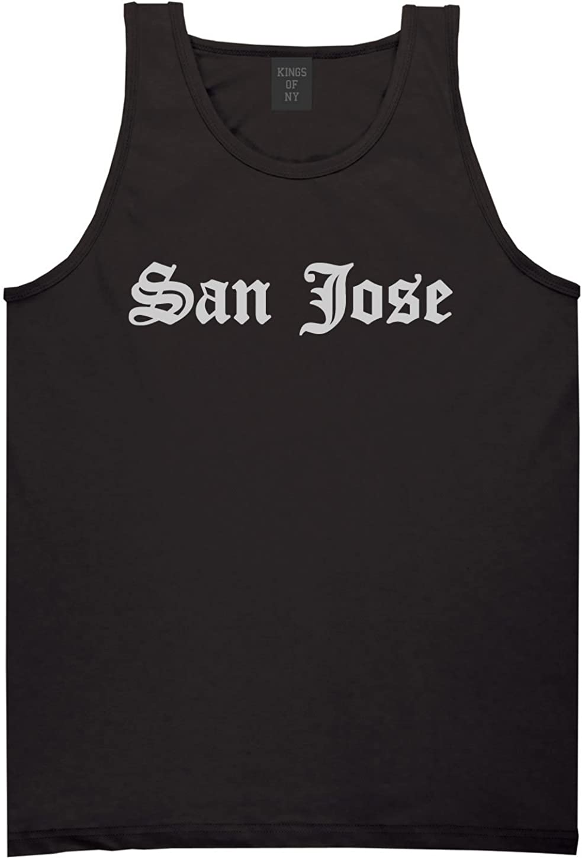 Kings Of NY San Jose City California State CA Tank Top