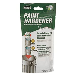 Homax Paint Hardener, 3.5 oz, Paint Solidifier