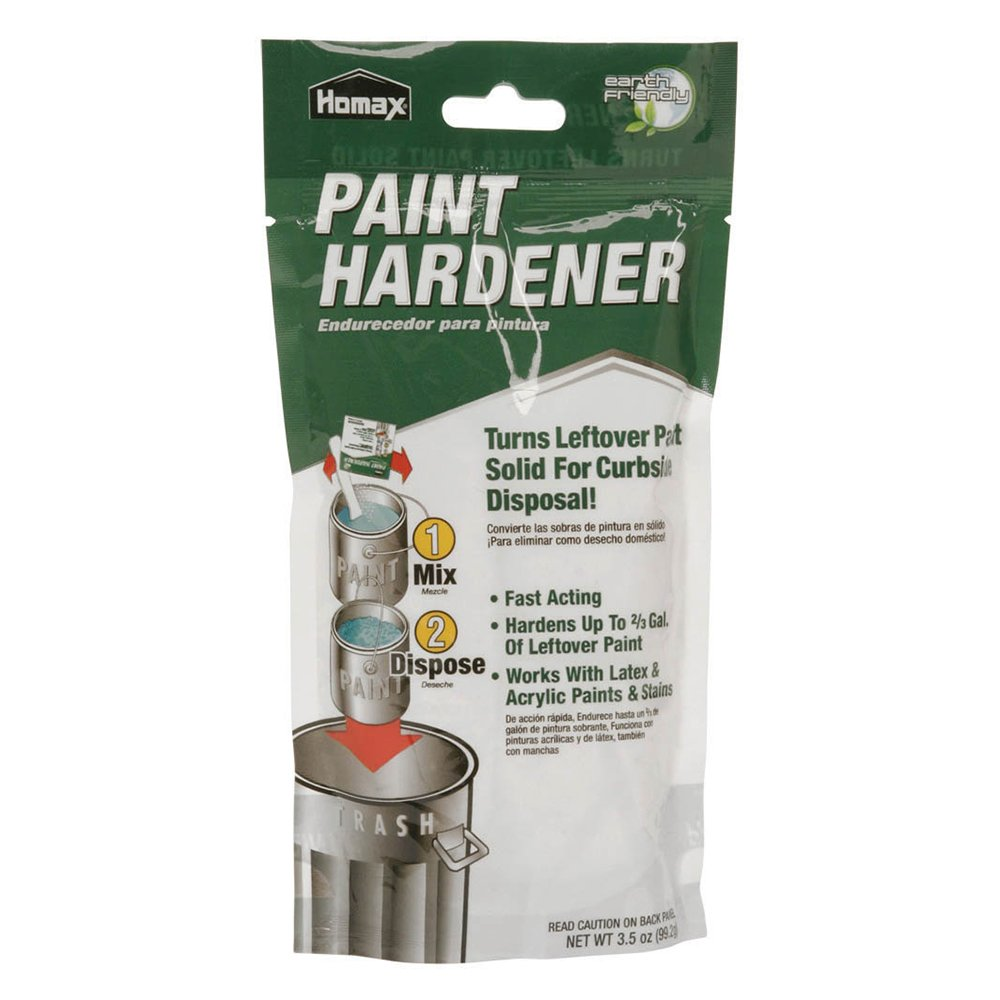 Paint Hardener, 3.5 oz, Paint Solidifier