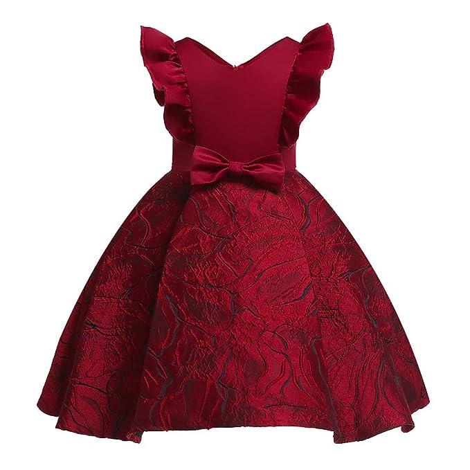 Berimaterry Falda niña Vestido de Princesa de bebé Niñas ...