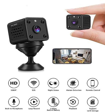 1080P Mini Hidden Spy Camera Motion Detection DV DVR Nanny Cam IR Night Vision