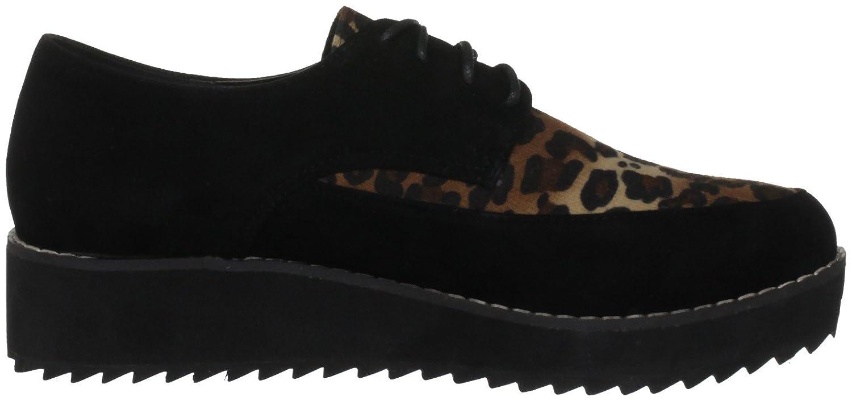 43ddb3285c45 Odeon Women's Eupraxia Black/Leopard Casual Loafers LS6823 5 UK:  Amazon.co.uk: Shoes & Bags