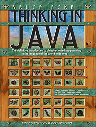 Thinking in Java (4th Edition): Bruce Eckel: 0076092039389